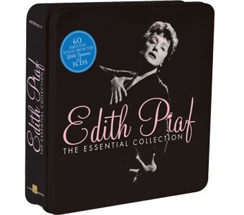 Edith Piaf - Edith Piaf - The Essential Collection (3CD Tin) - CD